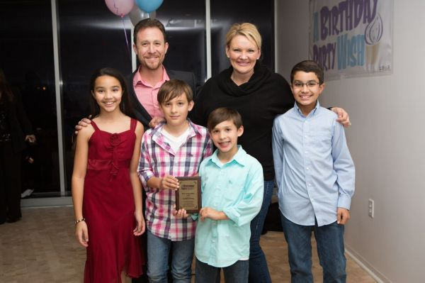 The Waldman Family wins award for service to charity